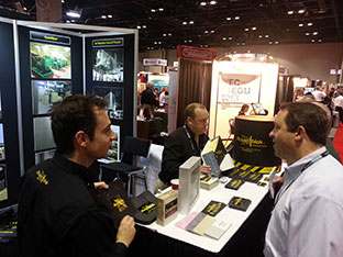 acoustiblok soundproofing power gen booth 2012 1