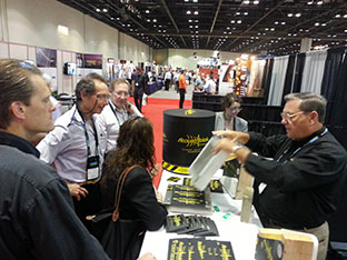 acoustiblok soundproofing power gen booth 2012 3