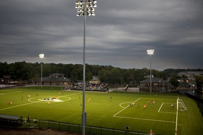 Kalamazoo College athletic complex - soccer field