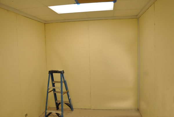 Sound barrier, noise barrier, soundproofing material, soundproofing a recording studio, no-construction soundproofing