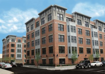 New Jersey Apt building treated with Acoustiblok sound deadening material