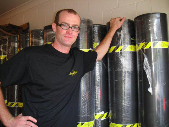 Steve Noaln Austraila Distributor for Acoustiblok Soundproofing Materials