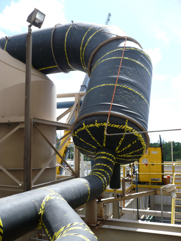 Wheelabrator aftersoundproofing application